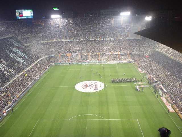 Fútbol en Mestalla