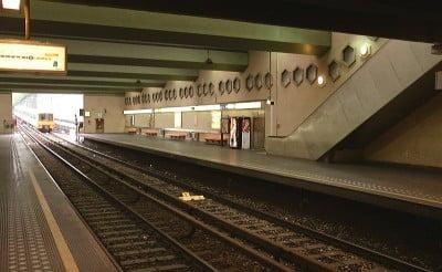 Metro Bruselas Delta