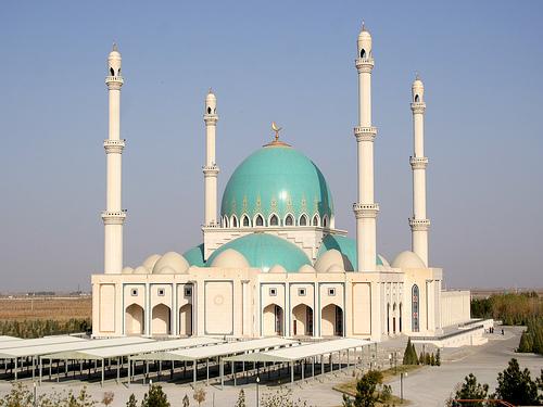 Mezquita de Geok Tepe, Turkmenistan