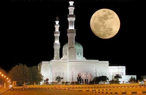 Mezquita en Oman