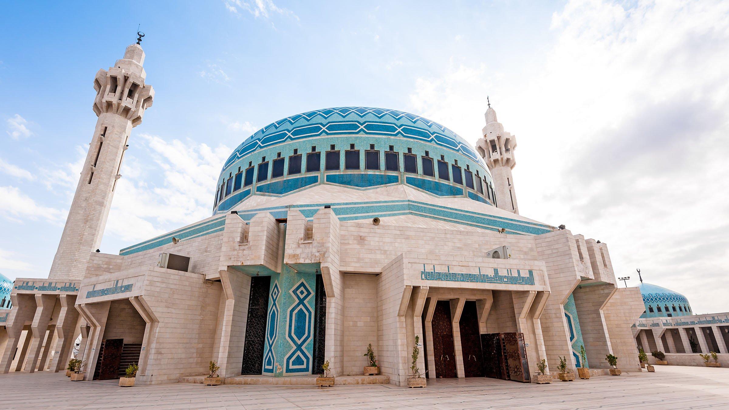 Mezquita en Jordania