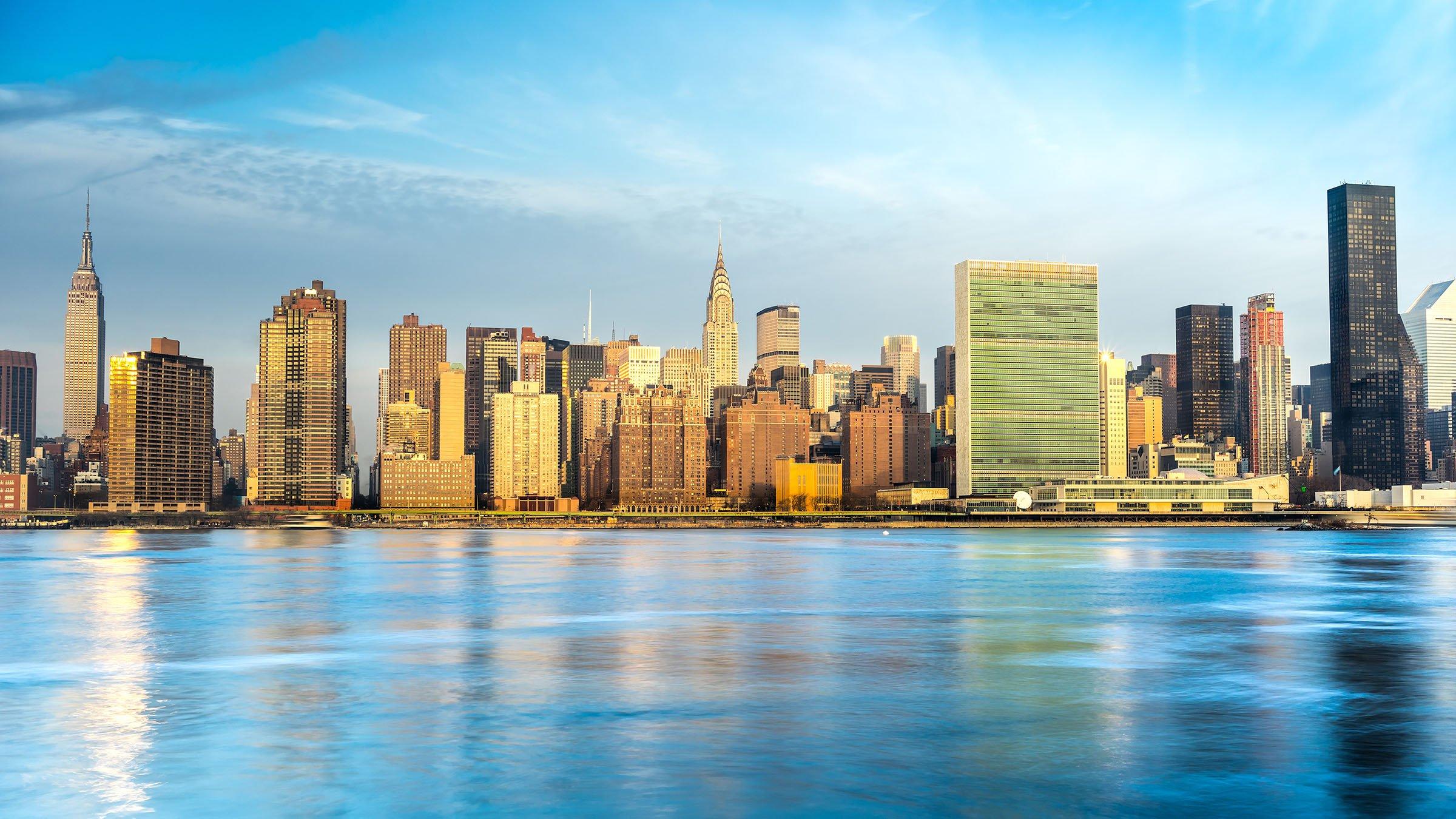Midtown de Manhattan en Nueva York