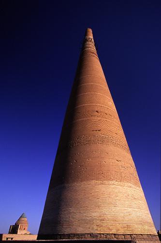 Minaret, Konya Urgench, Turkmenistan