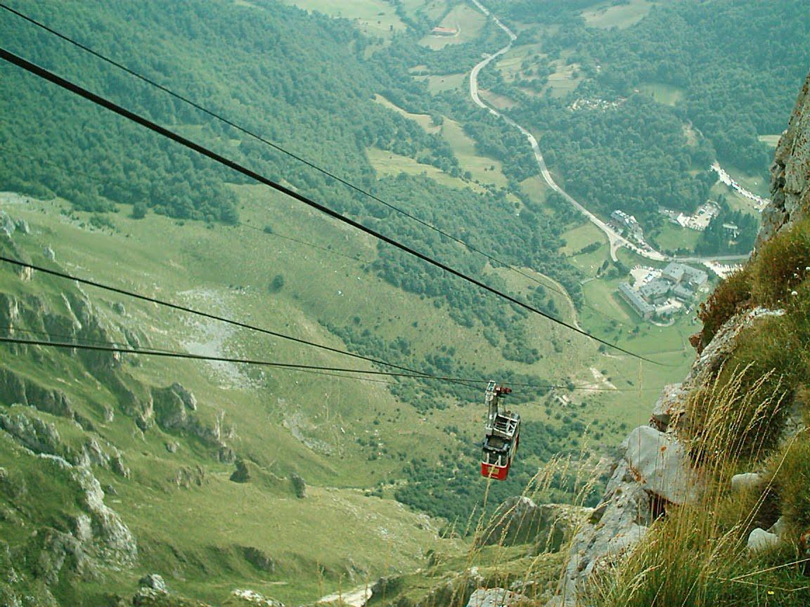 Mirador de Fuente Dé en Cantabria