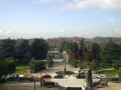 Mirador del Campus de Santiago