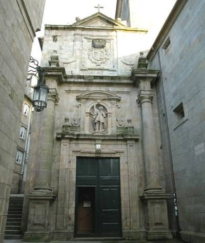 Monasterio de San Paio, en Santiago