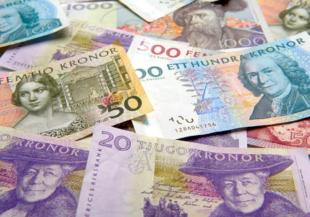 Kronor which country currency