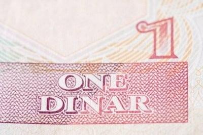 Moneda de Argelia un dinar