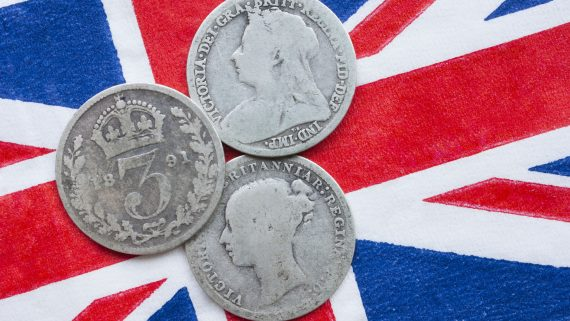 XNUMX世紀的英國硬幣