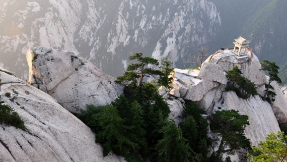 Montaña sagrada de Hua-Shan (China)