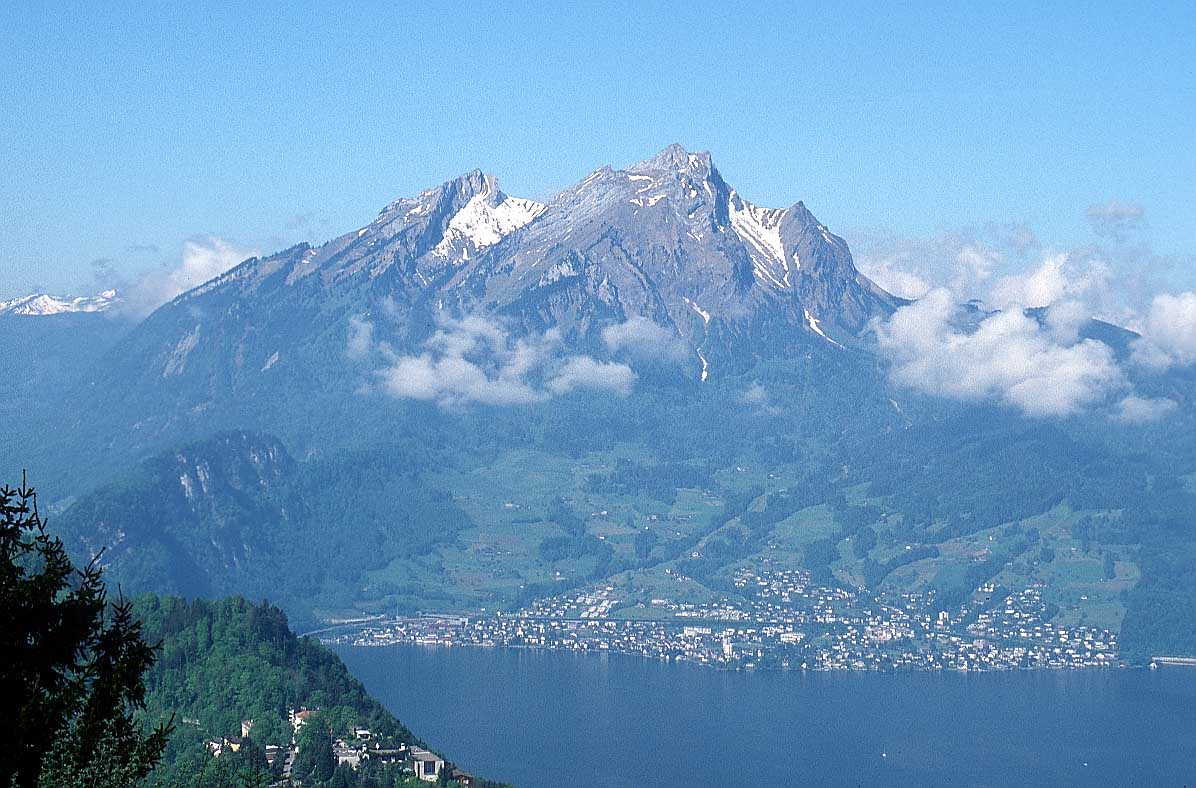 Monte Pilatus en Suiza