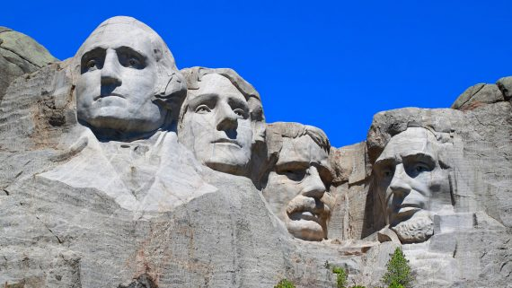 Monte Rushmore, Dakota del Sur
