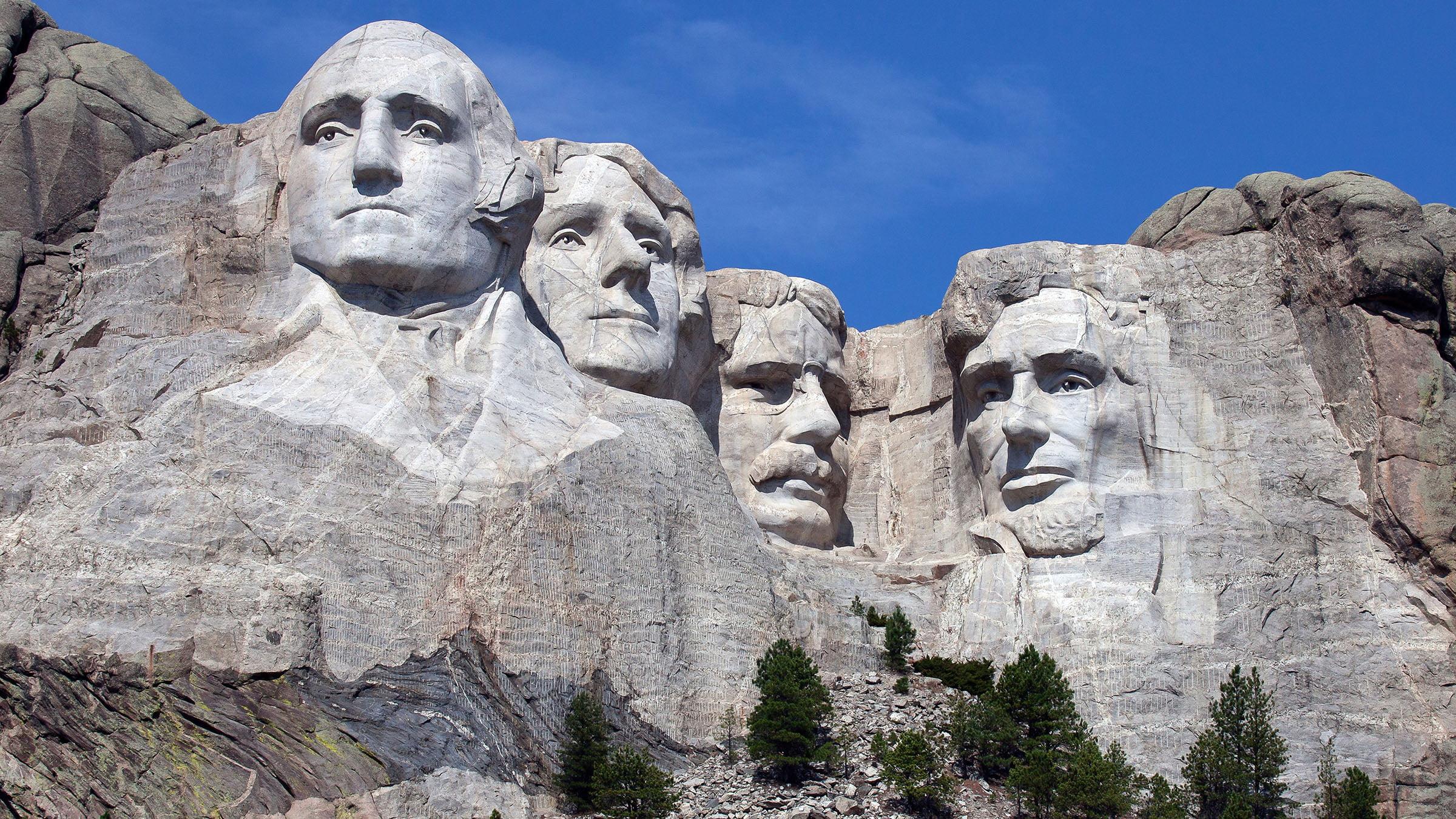 Monte Rushmore en Estados Unidos