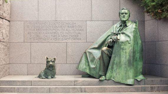 Monumento a Franklin D. Roosevelt en Washington DC