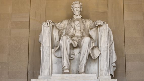 Monumento a Lincoln en el National Mall de Washington DC