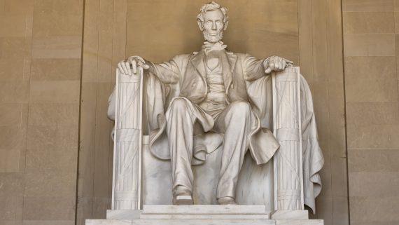 Monumento a Lincoln en el National Mall de Washington DC