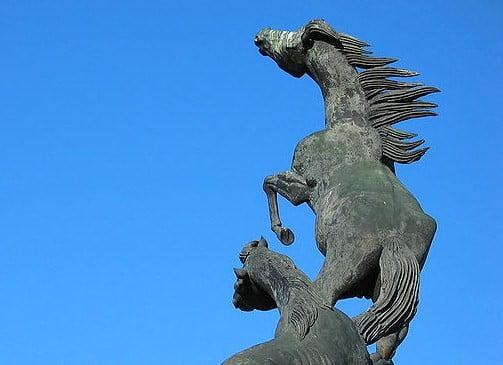 Monumento a Los Caballos de Vigo