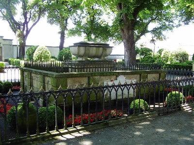 Monumento del Jardín de San Carlos