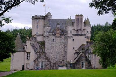 monumentos en el Reino Unido Castillo de Fraser Escocia