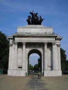 monumentos en el Reino Unido el Arco de Wellington