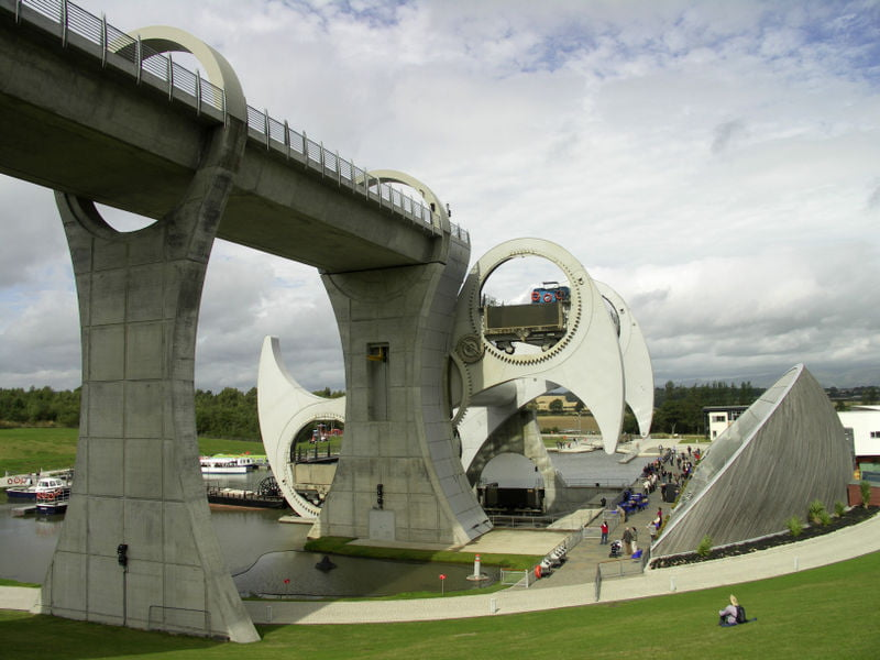 monumentos en el Reino Unido la Rueda de Falkirk