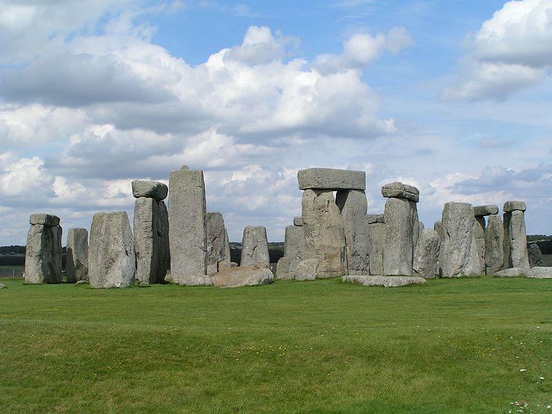 monumentos en el Reino Unido vista total del Complejo Principal Llamado Stonehenge