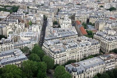 monumentos en ciudad de paris