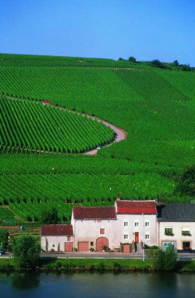 Moselle en Luxemburgo