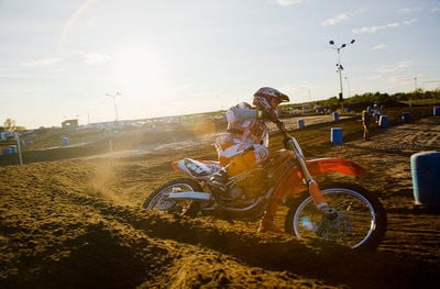 Motocross Bellpuig primeras vueltas