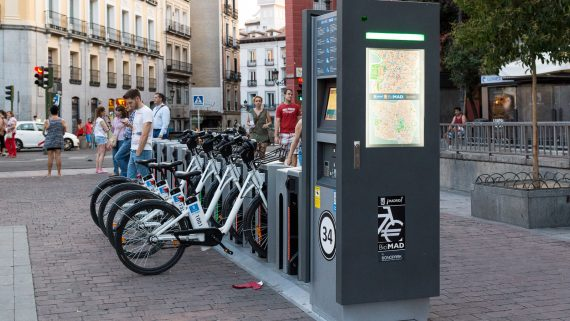 Moverse en bici por Madrid