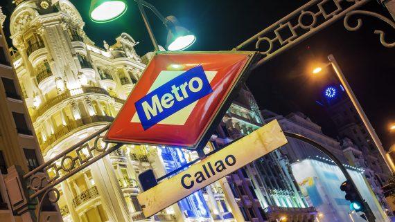 Moverse en metro por Madrid