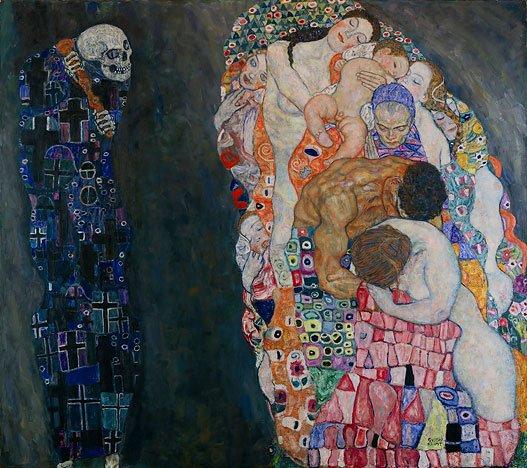 Muerte y Vida de Klimt
