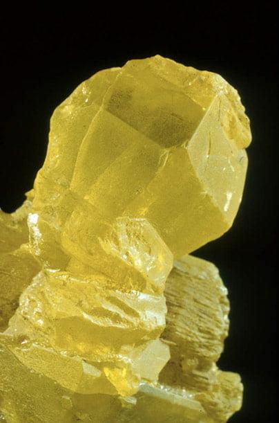 Muestra de mineral en el Museo de Ciencias Naturales