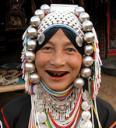 Mujer Burmes, Tailandia