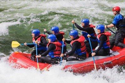 Multiaventura rafting en ruta