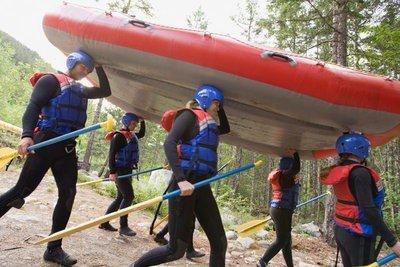 Multiaventura rafting