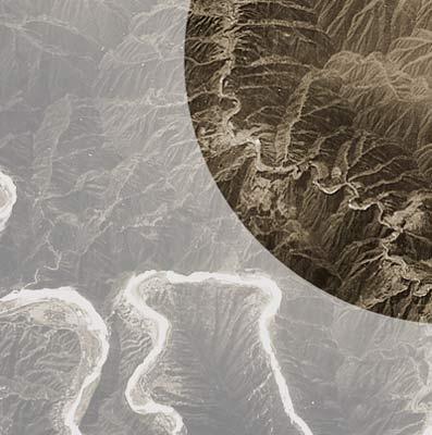 La muralla china desde el espacio.