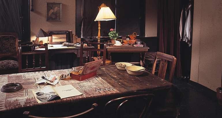 Interior del Museo de Ana Frank
