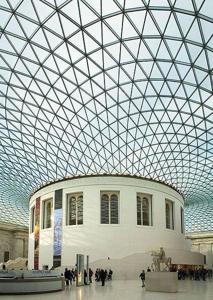 museo británico Londres Gran Atrio de Isabel II