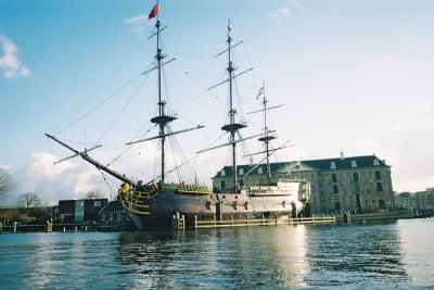 Navío del Museo Marítimo de Ámsterdam