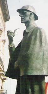 museos importantes en Londres estatua de Sherlock Holmes