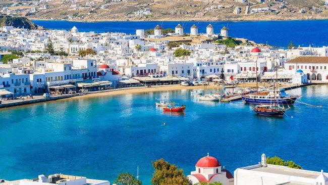 Turismo homosexual en Mykonos