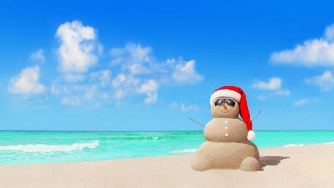 Navidades en las playas de Australia