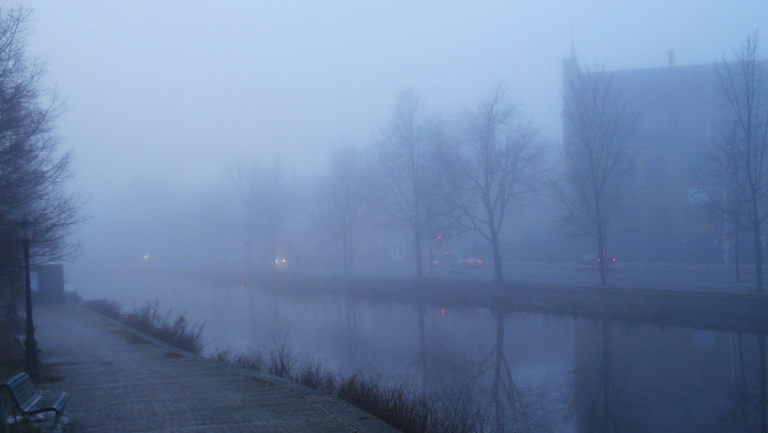 Niebla en Ámsterdam