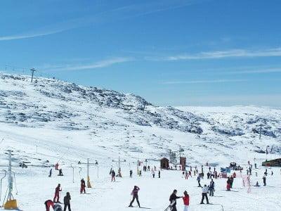 Nieve en Portugal