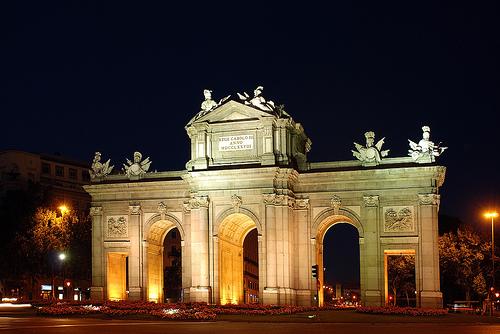 Nocturno de La Puerta de Alcalá