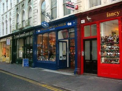 Comercio en Notting Hill