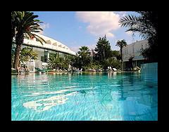 Oasis en Tunisia