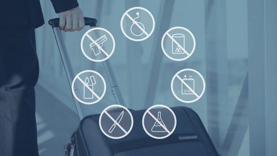Objetos prohibidos o peligrosos al volar con Air Berlin