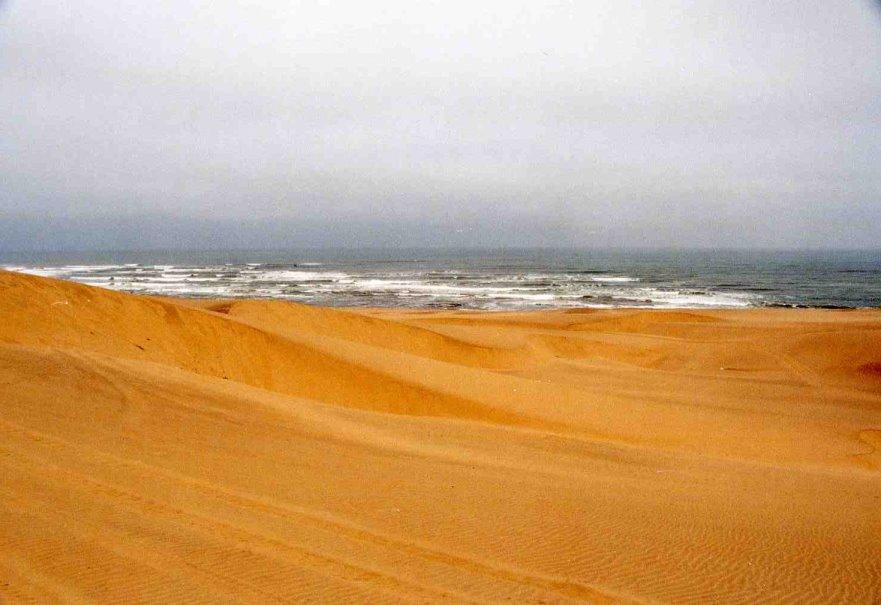 Oceano de Namibia